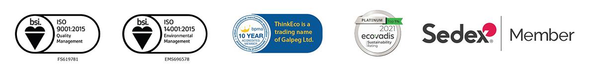 think eco accreditations
