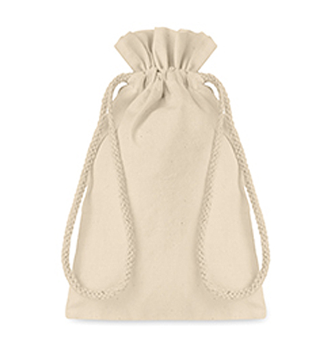 Small Cotton draw cord bag